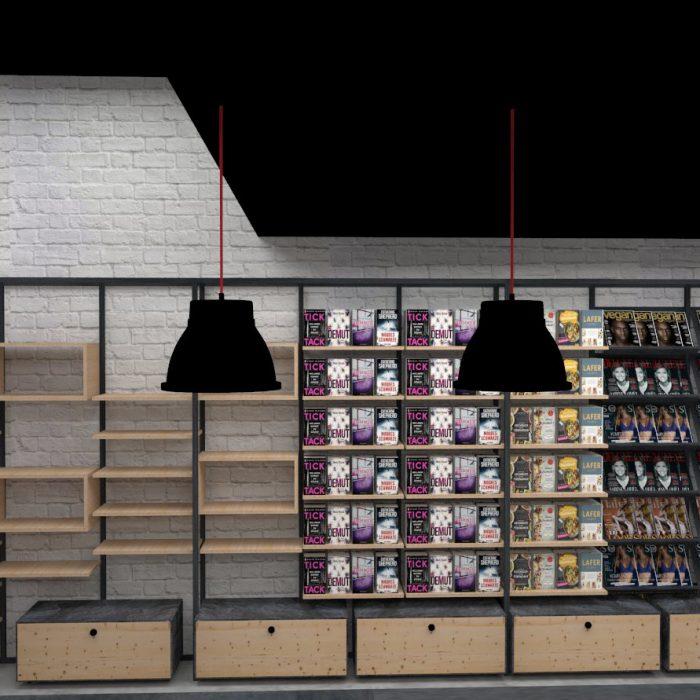 Innenarchitektur Federleicht Entwurf Kiosk München Ladenbau Shop Design