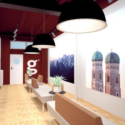 Innenarchitektur Federleicht Projekt Bürokonzept Getty Images Deutschland GmbH Raumwelten Heiss München