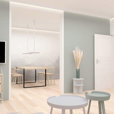Innenarchitektur Federleicht_Privatwohnung Renovierung Wohnzimmer