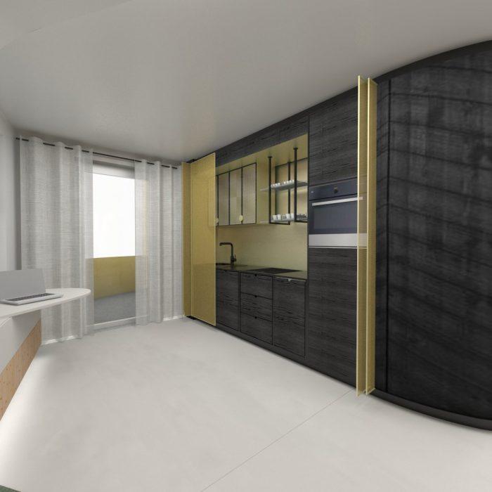 Entwurf Küche Innenarchitektur Federleicht