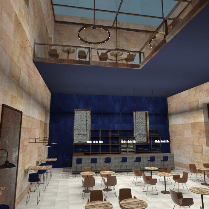 competition_ Art Prison Favignana_ Restaurant b