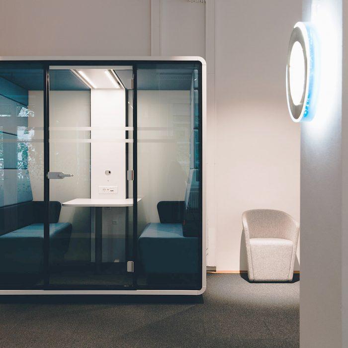 Innenarchitektur Federleicht Projekt Bürokonzept Getty Images Deutschland GmbH Raumwelten Heiss München Büro