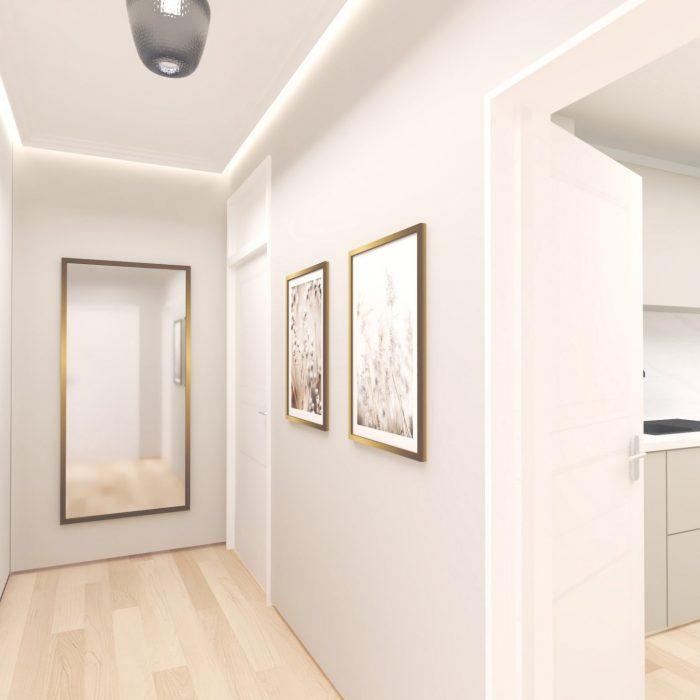 innenarchitektur federleicht privatwohnung renovierung flur